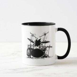 Schlagzeuger-Kaffee-Tasse Tasse