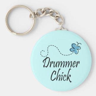 Schlagzeuger-Küken Schlüsselanhänger