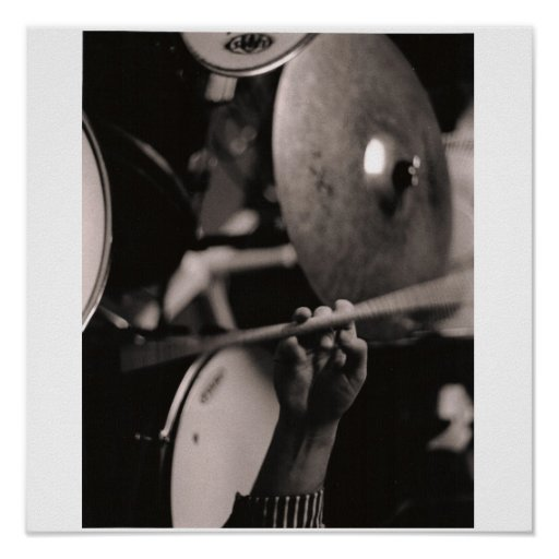 Schlagzeuger Poster