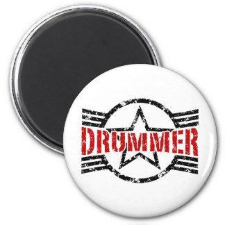 Schlagzeuger Runder Magnet 5,7 Cm