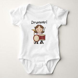Schlagzeuger - weibliche T-Shirts und Geschenke