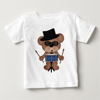 Schlagzeugerbär Baby T-shirt