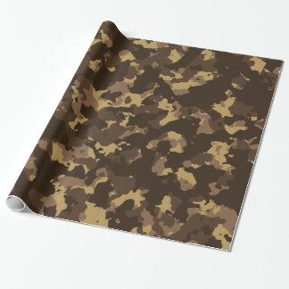 Schlamm-Camouflage Geschenkpapier