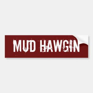 Schlamm Hawgin Autoaufkleber