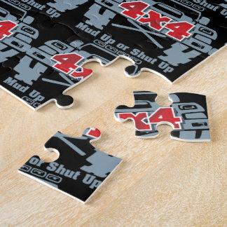 Schlamm hohes oder geschlossenes 4x4 weg von der puzzle