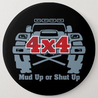 Schlamm hohes oder geschlossenes 4x4 weg von der runder button 15,3 cm