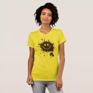 Schlamm-smiley Forrest Gump T-Shirt