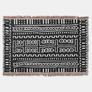 Schlamm-Stoff-Muster Decke