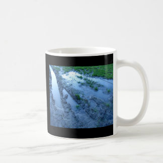 Schlamm-Streifen Kaffeetasse