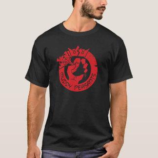 Schlammige Bauern (Rot/Schwarzes) T-Shirt