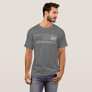 Schlammiger Nebenfluss bewirtschaftet Logo-Shirt T-Shirt