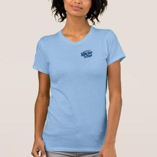 Schlammiger Tatzen Flyball Behälter T-Shirt