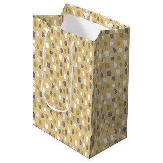 Schlammiges Klecks-Muster Mittlere Geschenktüte