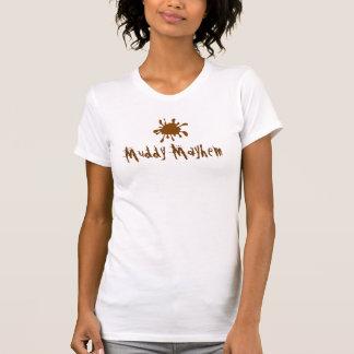 Schlammiges Verstümmelungs-Team-Shirt T-Shirt