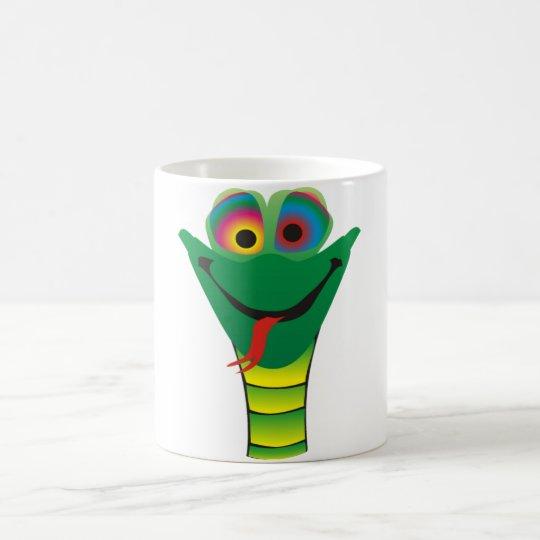 Schlange Hypnose Kaffeetasse