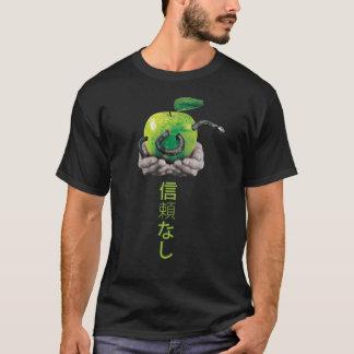 Schlange in einem Apfel T-Shirt