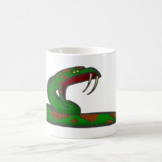 schlange snake kaffeetasse