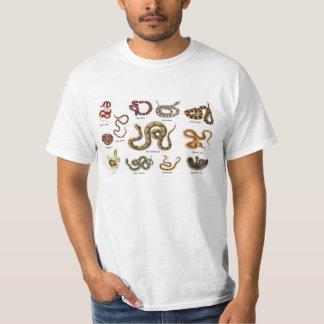 Schlangen-Identifizierungs-Kleid T-Shirt