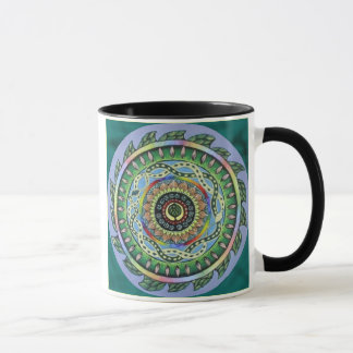Schlangen-Mandala Tasse