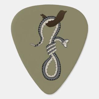 Schlangen-Schleife Plektrum