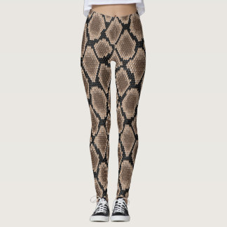 Schlangenhaut Leggings