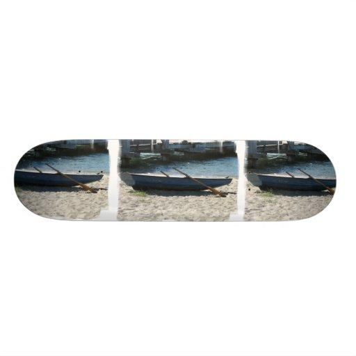 Schlauchboot-Skateboard Personalisiertes Deck