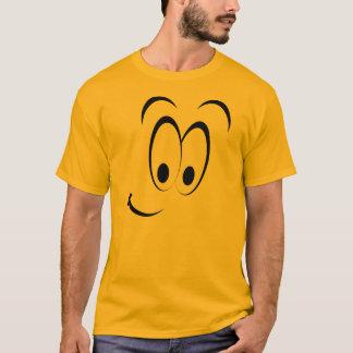 Schlaues Gesichtemoticon-Gruppen-Kostüm T-Shirt