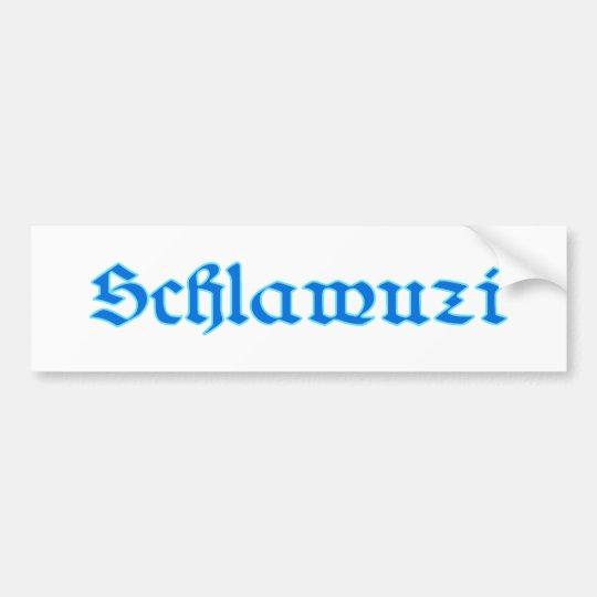 schlawuzi rascal Bayern bayrisch bayerisch Bavaria Autoaufkleber