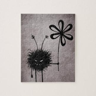 Schlechte Blumen-Wanze Vintag Puzzle