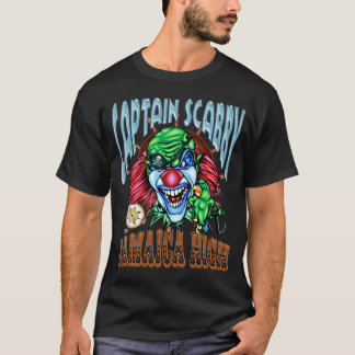 Schlechte Clown-T-Shirt Piraten-Dunkelheit T-Shirt