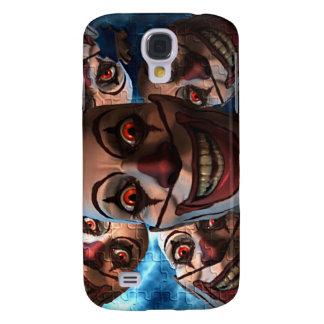 Schlechte Clowns mit ausbauchenden Augen Galaxy S4 Hülle