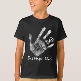 Schlechte Finger-Dias T-Shirt