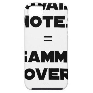 SCHLECHTE VERMERKE = over-GAMME - Wortspiele Tough iPhone 5 Hülle