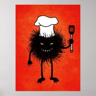 Schlechte Wanzen-Kochs-Lieben zu kochen Poster
