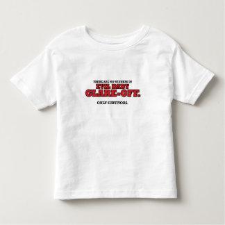 Schlechter Baby Greller Glanz-Weg Kleinkind-T - Hemden