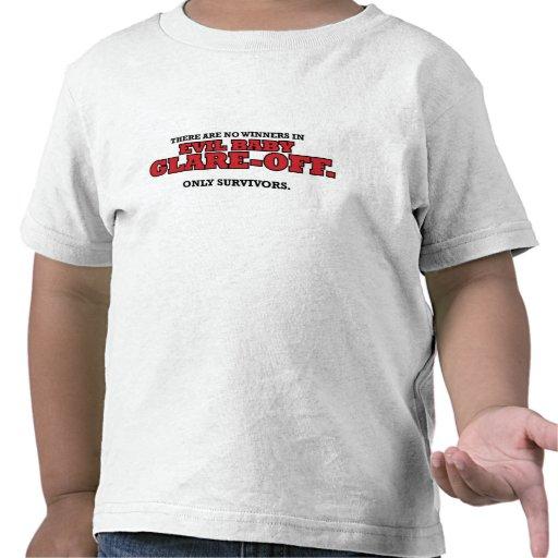 Schlechter Baby Greller Glanz-Weg Kleinkind-T - Sh Hemden