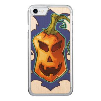 Schlechter beängstigender Kürbis Halloweens Carved iPhone 8/7 Hülle