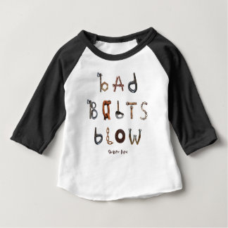Schlechter Bolzen-Schlag - Baby-amerikanischer Baby T-shirt