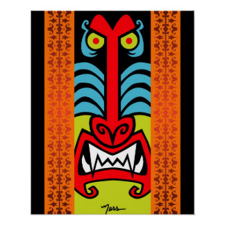 Schlechter Esels-Pavian Poster