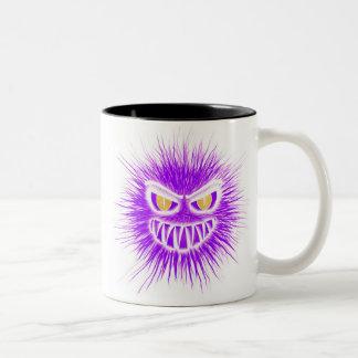 """""""Schlechter Hairball-"""" Kaffee-Tasse Zweifarbige Tasse"""