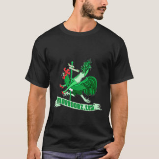 Schlechter Jungen-Karussell-T - Shirt (Grün und