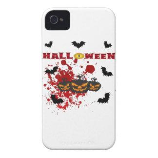 Schlechter Kürbis Halloween iPhone 4 Etuis