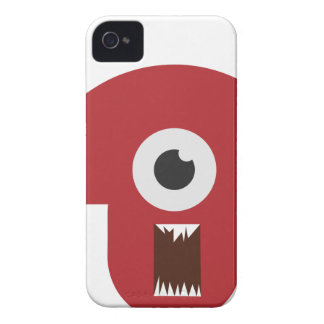 Schlechter Monster-Kopf Case-Mate iPhone 4 Hülle