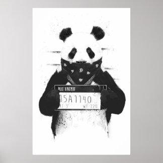 Schlechter Panda Poster