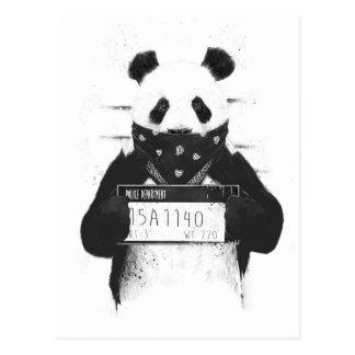 Schlechter Panda Postkarte