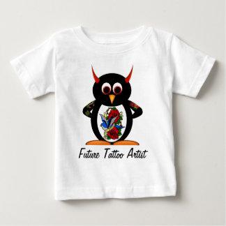 Schlechter Pinguin-zukünftiger Baby T-shirt
