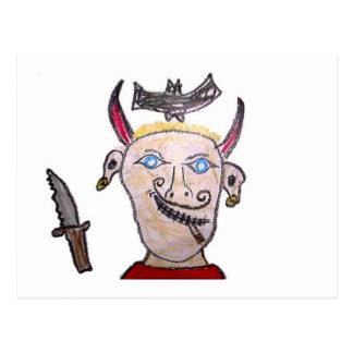Schlechter Pirat Postkarte