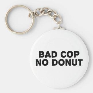 Schlechter Polizist kein Krapfen Schlüsselanhänger
