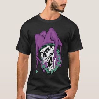Schlechter Spaßvogel-Schädel T-Shirt