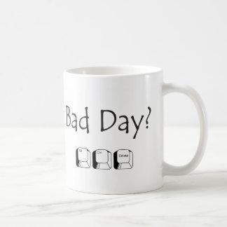 Schlechter Tag? Kaffeetasse